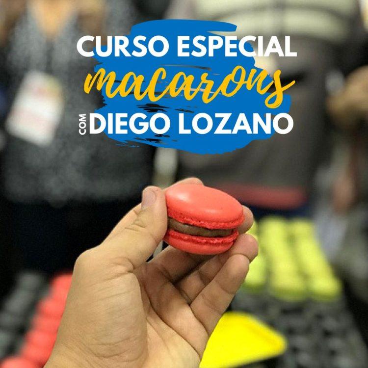 Macarons com Diego